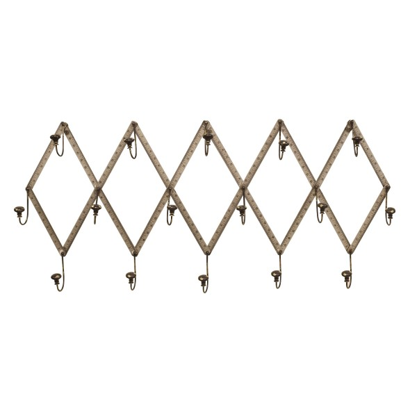 40 Gun Metal Silver Wall Mounted Coat Rack Welcome Home Accents Impressive Silver Wall Coat Rack