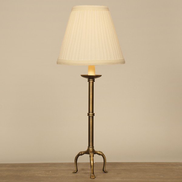 02T914MP | Tripod Accent Lamp With Mushroom Pleat Shade